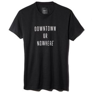 Knowlita Downtown or Nowhere T-shirt Size Small